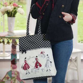 Aïda «Mademoiselle en rouge» Bag