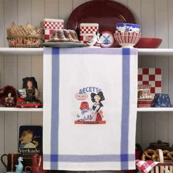 Aïda « l'Alsacienne » Tea towel