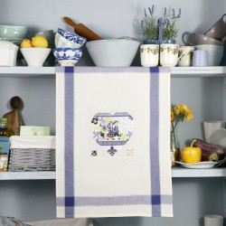 Aïda «Spring Heart» Tea towel