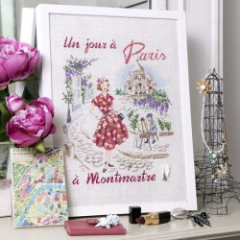 Aïda: «Un jour à Paris à Montmartre» Half kit