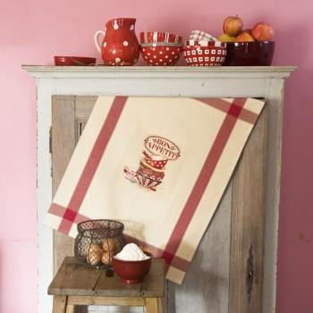Aïda «Bon Appétit» Tea towel