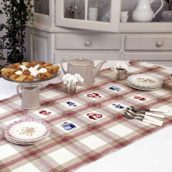 Lin : Chemin de table «Les petits hollandais»