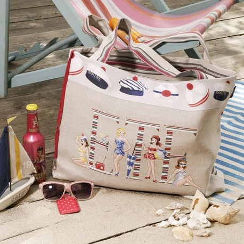 Aida : Maxi bag «Biarritz»