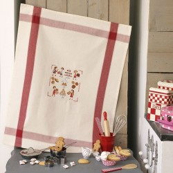 Aïda « Petits biscuits» Tea towel