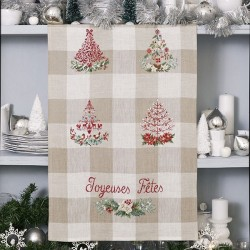 Linen «Christmas tree» Tea towel