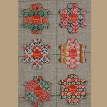 « Bayeux » 6 Cartes à fil SAJOU