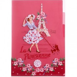 « Belle Parisienne » Little plastic folder