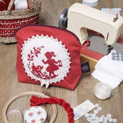 Aïda kit special beginner «Élise and her dog» Pouch
