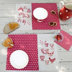 Linen «Little chicken» Place mats