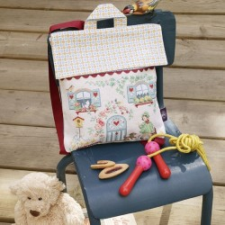 Aïda  « Little House» School bag