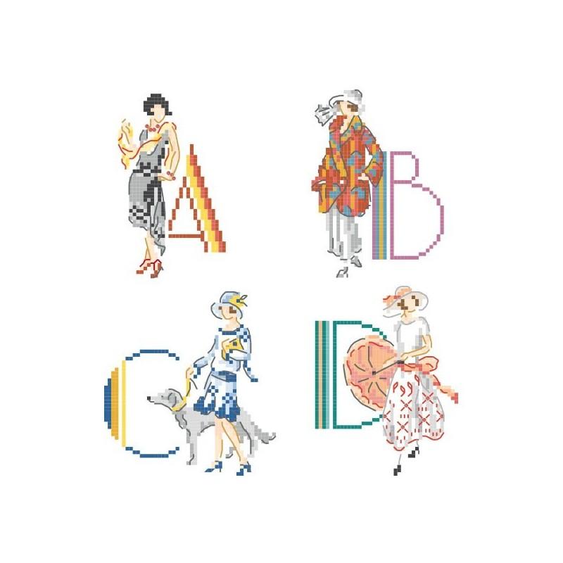« Roaring Twenties » Alphabet Chart