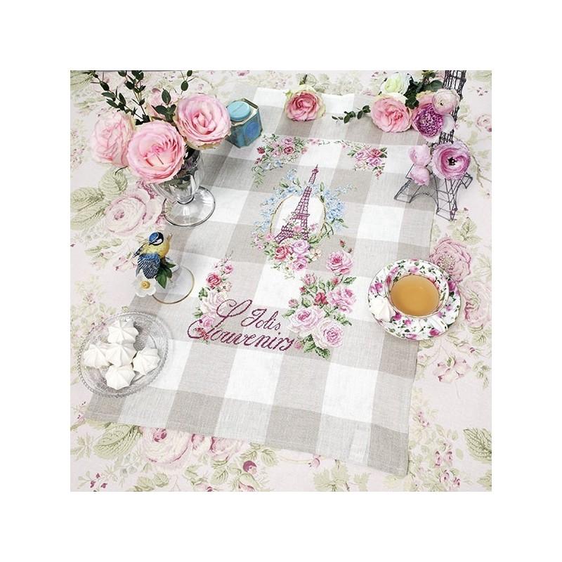 Aïda « La vie en rose » Tea towel