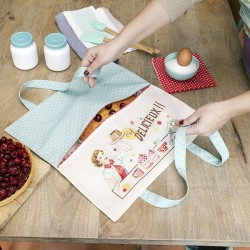 Linen « So delicious » Pie bag