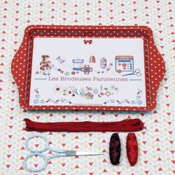 The cross-stitch tray