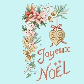 Grille «Noël en fleurs »