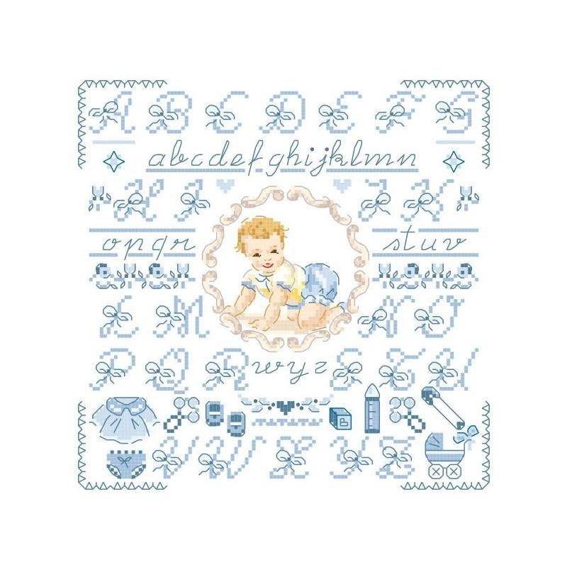 Petit ABC « Bébé » bleu