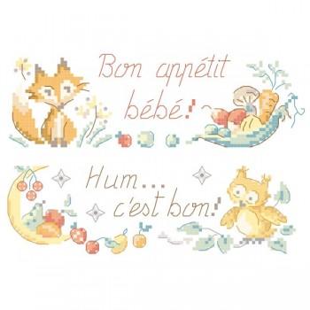 Grille « Bon appétit bébé »