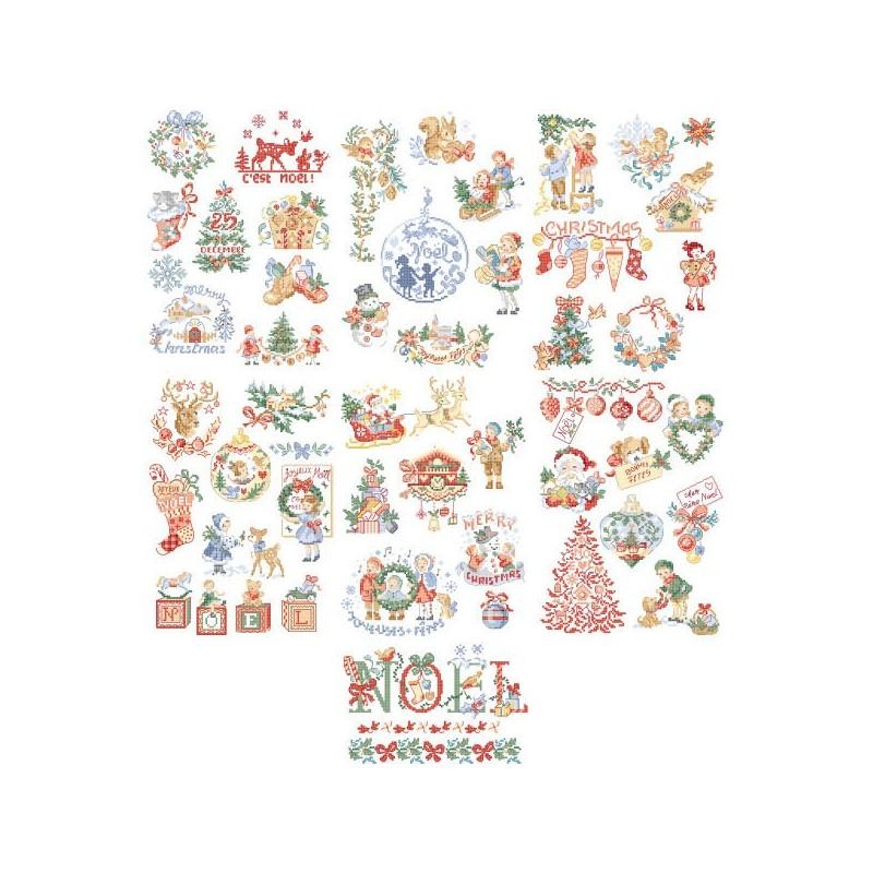 La grande histoire de Noël : 50 grilles