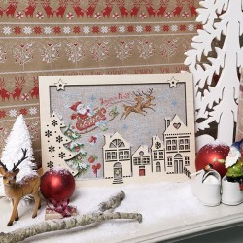 Lin : Cœur de Noël « Sur son traineau »