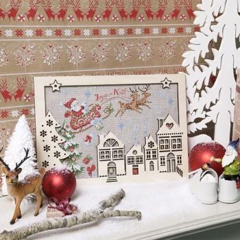 Aïda : Cœur de Noël « Sur son traineau »