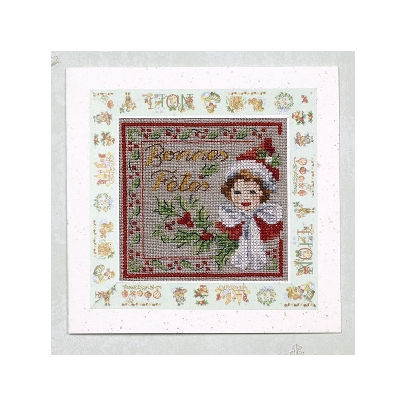 Embroidered greetings cards » N°1 A very special story in 31