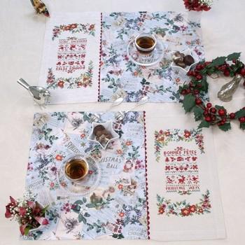 Aïda : Sets de table «Sampler de fête»