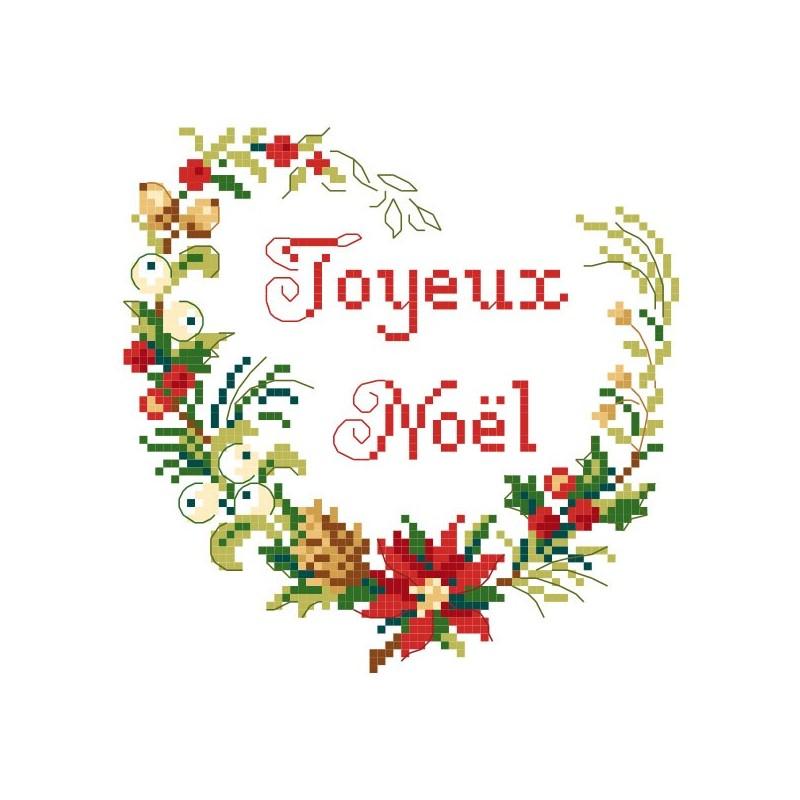 Grille « Coeur de Noël »