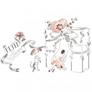 Grille « Mademoiselle se balance »