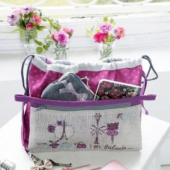 Aïda « Place de l'Étoile » Handbag organiser
