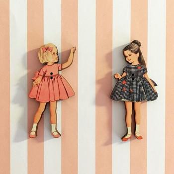 2 boutons « Liliane et Jeanne »