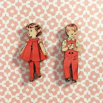 2 boutons « Paul et Marie »