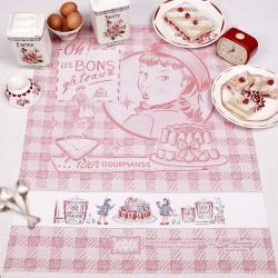 Aïda « Delicious cakes » Tea towel