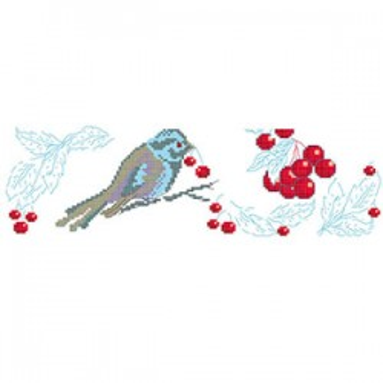 Grille «Oiseau gourmand»