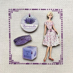 4 boutons « Provence »