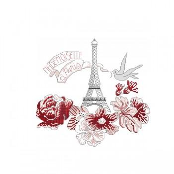 Grille « Mademoiselle à Paris »
