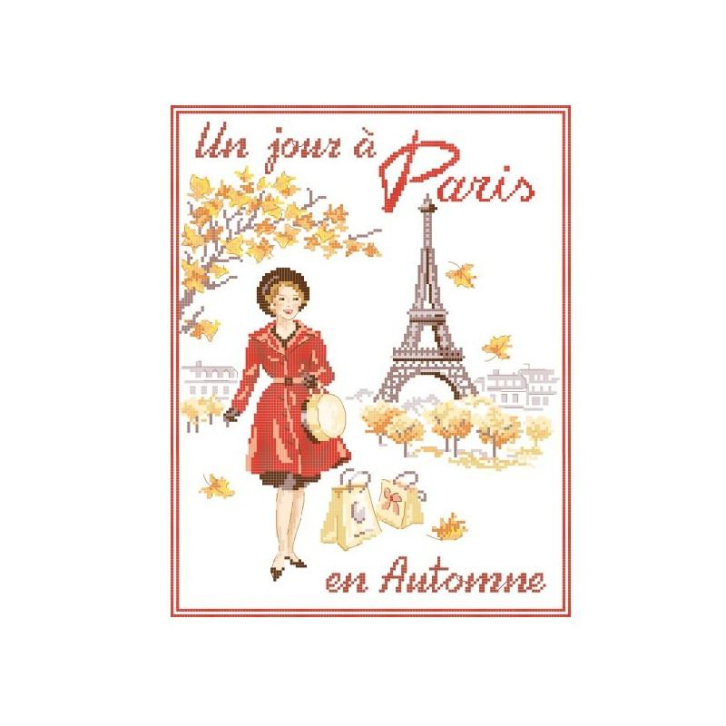 Grille «Un jour à Paris en Automne»