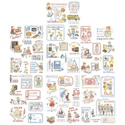 A school story in 50 charts