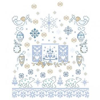 Grille « Sampler nordique bleu »