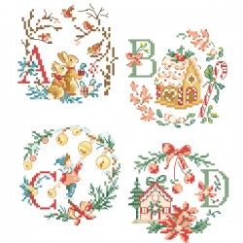 « Christmas » Alphabet Chart