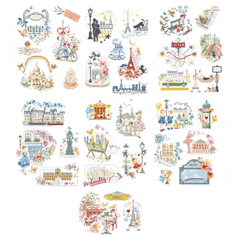 La grande histoire «Paris est un poème» : 36 motifs