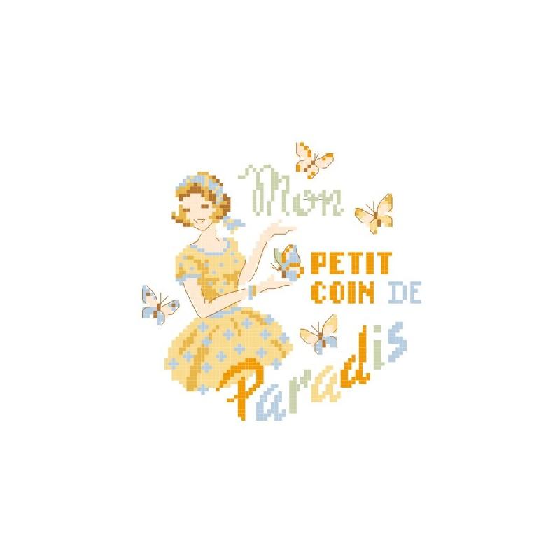 Grille « Mon petit coin de paradis »