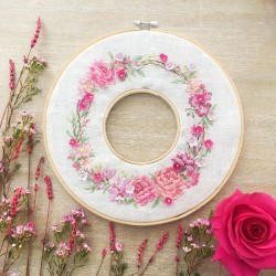 Aïda Half-kit «Spring wreath»