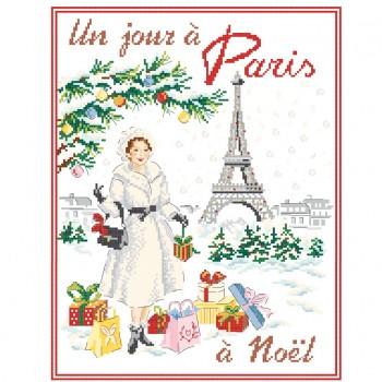 Grille «Un jour à Paris à Noël»