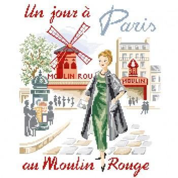 «Un jour à Paris au Moulin rouge» Chart