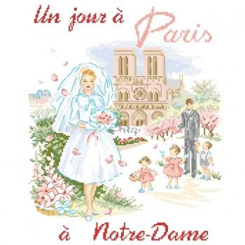 Grille «Un jour à Paris à Notre Dame»