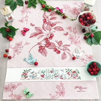 Aïda « Cherry » Tea towel