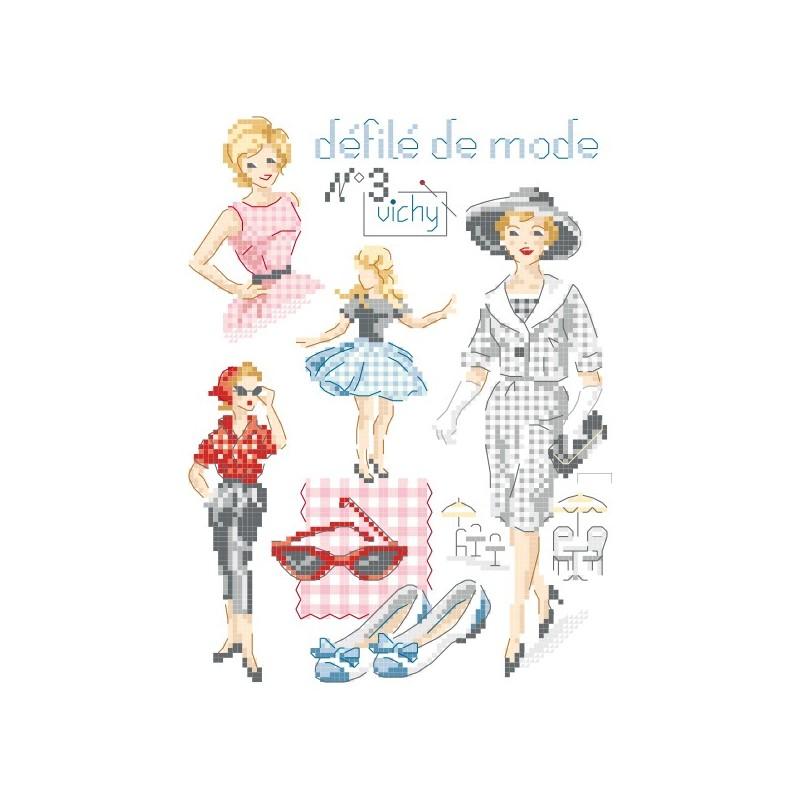 Défilé de mode N°3 « Vichy » chart