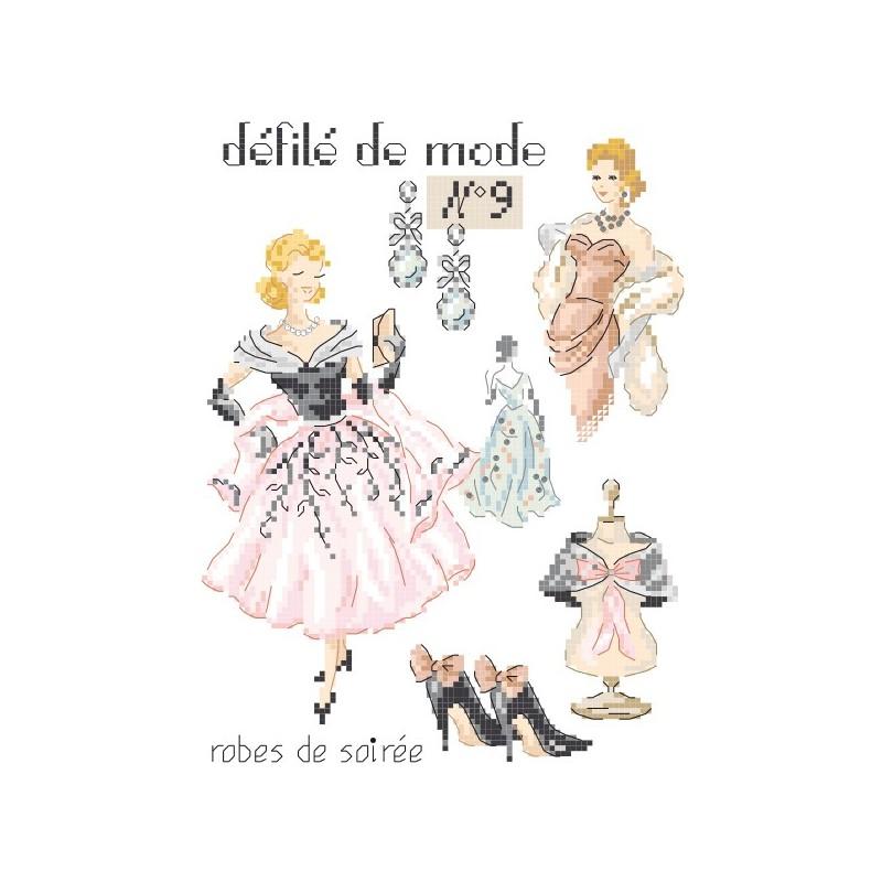 Grille : Défilé de mode N°9 «Robes de soirée»