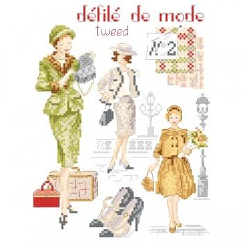 Fashion show N°2 « Tweed » chart