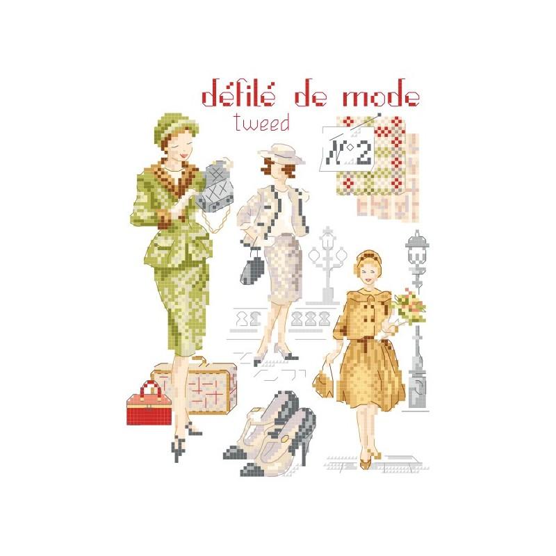 Grille : Défilé de mode N°2 «Tweed»